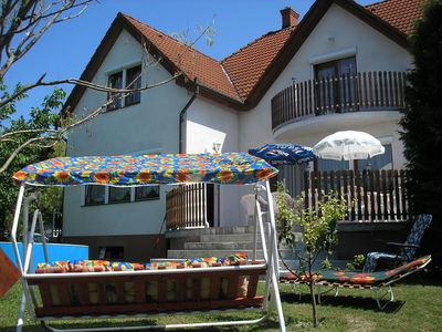 Photo for Holiday house with pool and gazebo