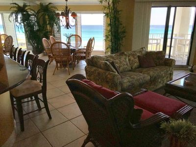 Photo for STUNNING CONDO - ON THE BEACH - AMAZING VIEWS - SLEEPS 12