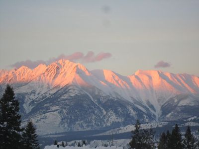 Photo for BEAUTIFUL MOUNTAIN VIEWS,CENTRAL TO FERNIE  & KIMBERLY, ENDLESS ADVENTURES