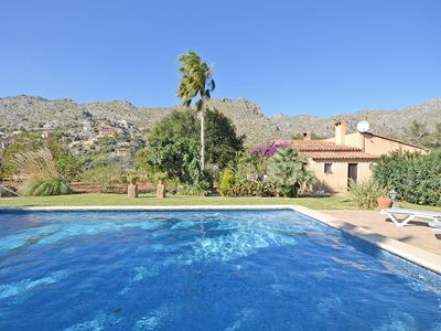 Photo for Finca with private pool in Pollenca - 6+1 persons