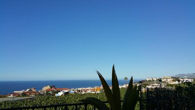 Photo for Finca with a dream view-romantic apartment, pool, quiet, garden