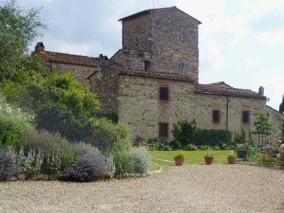 Photo for Wing of Medieval Tower with garden and pool close to Florence