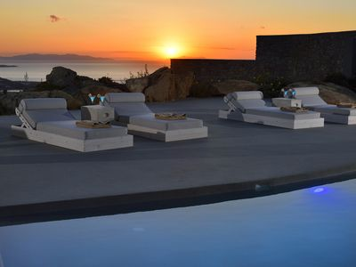 Photo for VILLA STEFF MYKONOS, 270 SQM, PRIVATE POOL WITH JACUZZI, 5 BEDROOMS UP TO 10 GUESTS PAMPER YOURSELF WITH GENUINE HOSPITALITY