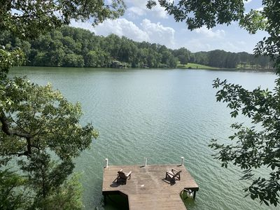 Photo for Relaxing Waterfront Home, with plenty of privacy, on beautiful Shoals Creek!