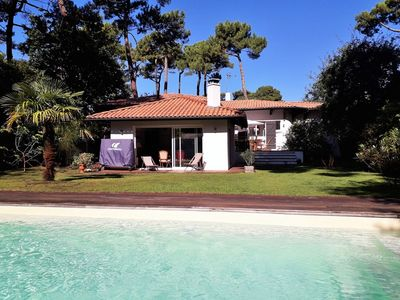 Photo for Comfortable family house near the beach heated pool