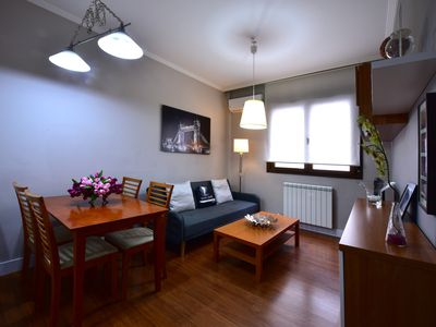 Photo for HEART IN THE BEST AREA AND VERY QUIET APARTMENT WITH AIR CONDITIONING