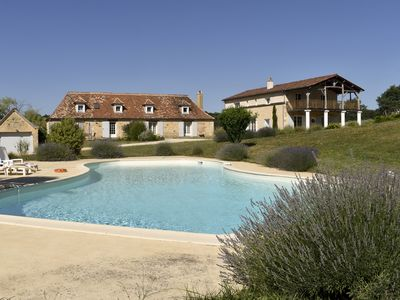 Photo for Le Domaine des Ravels, charming house, comfort, nature, calm and view