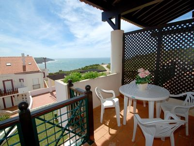Photo for Pristine - Superb 2 bedroom apartment with sea and pool views