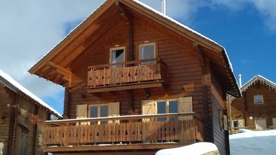 Photo for Cabin comfort 8 people 4 stars with pool, panoramic view