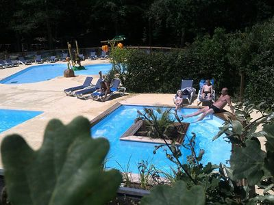 Photo for Camping Les Acacias **** - Mobile Home 4 Rooms 6 people