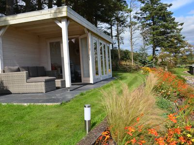 Photo for Luxury Cottage With Summerhouse And Sea Views, large Tropical Type Gardens