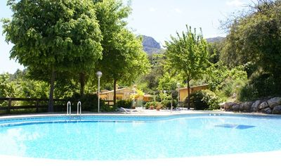 Photo for Cabin or bungalow Camping Vall de Laguar for 4 people
