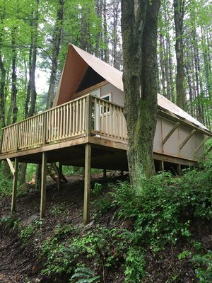 Photo for The Duck Nest Glamping Cabin at Dragonfly Lake *New Listing*