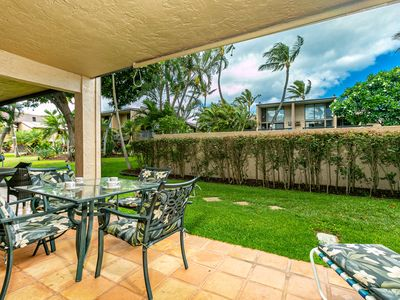 Photo for Kihei Garden Estates #E-102 Ground Floor, Steps to Pool, Restaurants Nearby
