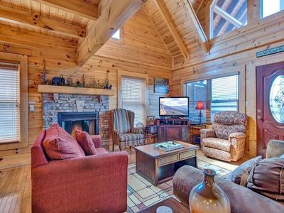 Photo for Misty Mountain Hideaway - Three Bedroom Cabin