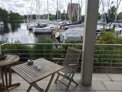 Photo for Double room and separate living room with 2 sofa beds and separate kitchen - Fewos Marina Greifswald