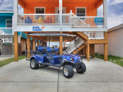 Photo for Orange Flamingo: Brand NEW Listing, *Free Golf Cart, Close to Beach