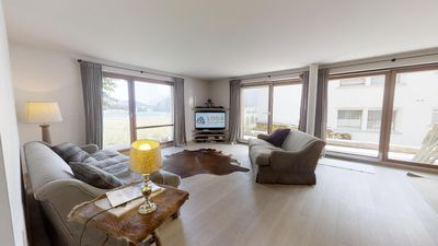 Photo for Modern and tastefully furnished 3-room apartment on the ground floor, entrance h