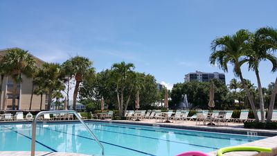 Photo for Convenient N Naples Location Panoramic Pool & River Views
