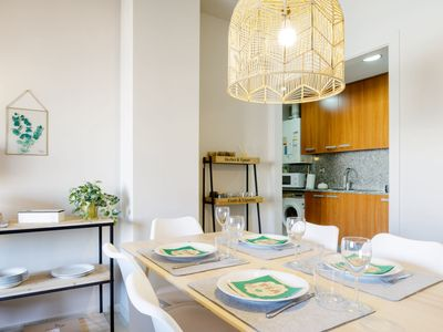 Photo for Scandinavian style bright apartment in Poble Nou