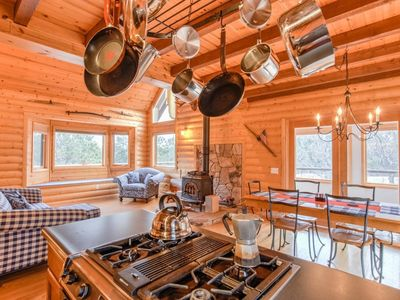 Photo for True Colorado | Secluded Mountain Cabin | 360 View