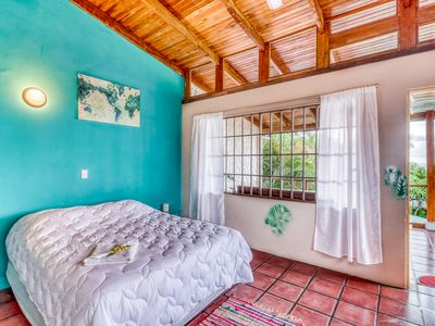 Photo for Comfortable & inviting hilltop studio w/ ocean views in Manuel Antonio