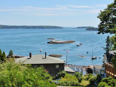 Photo for Boothbay Harbor Amazing Ocean Views, Tennis, Community Dock, Wrap Around Porch