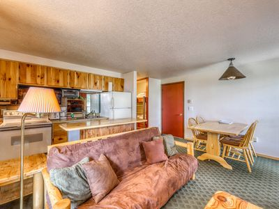 Photo for Ski-in/ski-out condo w/ shared hot tubs, wood fireplace & stunning views!