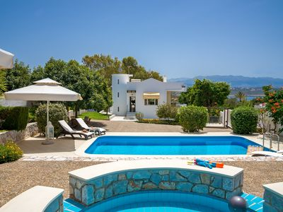 Photo for Luxury Villa With private Adult and Baby Pool, full privacy through tall fencing