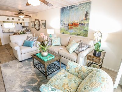 Photo for Welcome to Castle Beach resort #103, a 2 bedroom, 2 bath condo located just at the southernmost tip of tropical Fort Myers Beach