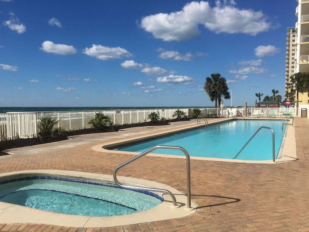 2 Bedroom Beautiful Pet Friendly Gulf Front Condo Panama City Beach Florida Panhandle Florida