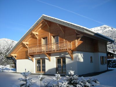 Photo for Entire chalet 3 *, 8 people, in the heart of Samoëns (Haute-Savoie, Grand Massif)