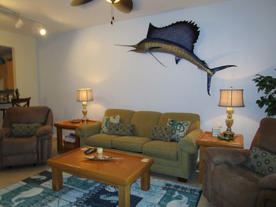 Photo for Great Location! Beautiful Condo!  Fully Furnished! Wifi & Pool