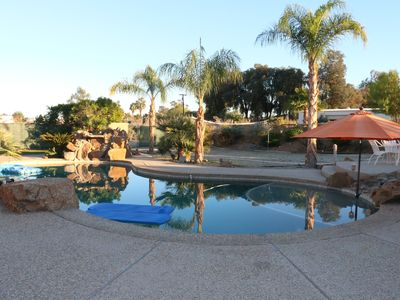 Photo for CLOSE TO TENNIS AND COACHELLA FEST - 4 BEDROOM WITH LARGE POOL - FAMILY FRIENDLY