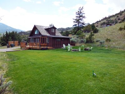 Photo for Country Cottage (Yellowstone 20 min. away) Secluded - Wi-Fi (sleeps 4-6)