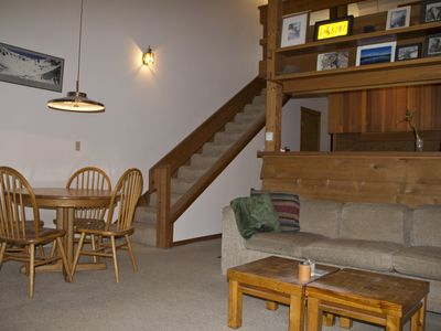 Photo for Jackson Hole One Bedroom Condo W/ Loft