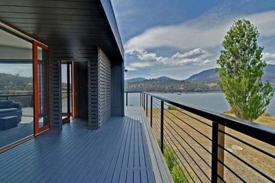 NEW BUILT 2016 - TASMANIA'S ONLY 2 SIDED WATERFRONT and LARGEST HOLIDAY  RETREAT