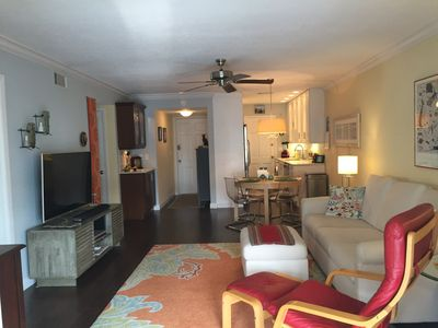 Photo for Charming newly renovated condo  on Venice Island overlooking the Gulf