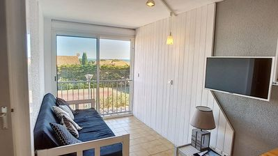 Photo for APPT T2- RESIDENCE WITH SWIMMING POOL AND TENNIS