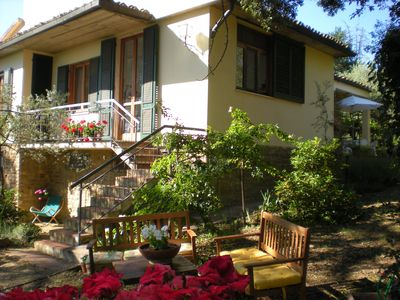 Photo for Panoramic villa in the Chianti 17 km from Florence - Unlimited free WiFi