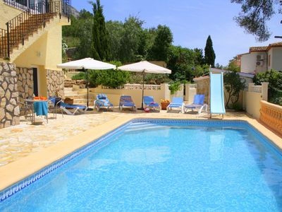 Photo for Holiday home in Javea / Spain for up to 8 people with private pool and garden