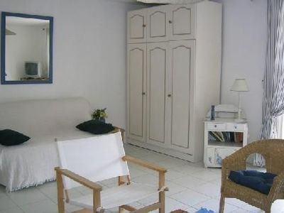 Photo for Garden Level apartment in villa with pool and panoramic view of Sète