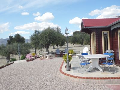 Photo for Peacefully Located Cabin In The Hills Surrounding Cocentaina With Use Of Pool