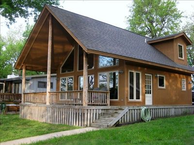 Photo for 2 Bedroom A-frame with Dock Access & Boat docking