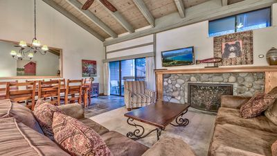 Photo for Updated spacious townhome steps from Lake Tahoe – sleeps 8