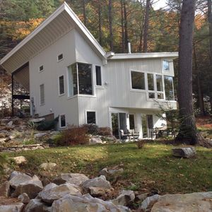 Photo for Peg's Place On The Rocks sleeps 8. Nestled In The Boulders, Surrounded By Pines!