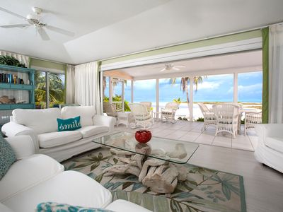 Photo for Two Rainbows: Beach Lovers Paradise in Cayman Kai w/ Pool & Beautiful Barefoot Beach