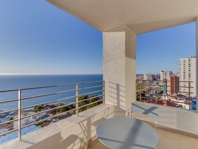 Photo for Moderno dpto con vista al mar - Modern apt with ocean views