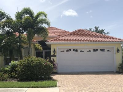 Photo for Fall 2019 Available! Beautiful 3BR Venice Home w/ pool; 3 miles from beach!