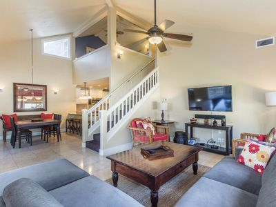 Photo for Incredible 3BR/3BA Villa: Central A/C! 5 Minute Walk To Beach! Very Quiet!